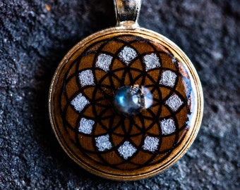 Eternal Life Lotus | Torus | Crystal Grid Pendants