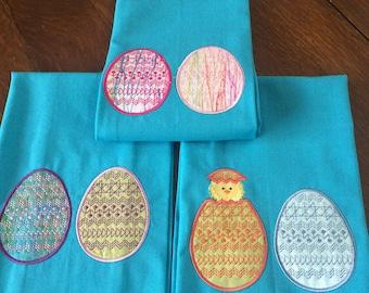 Egg Tea Towels