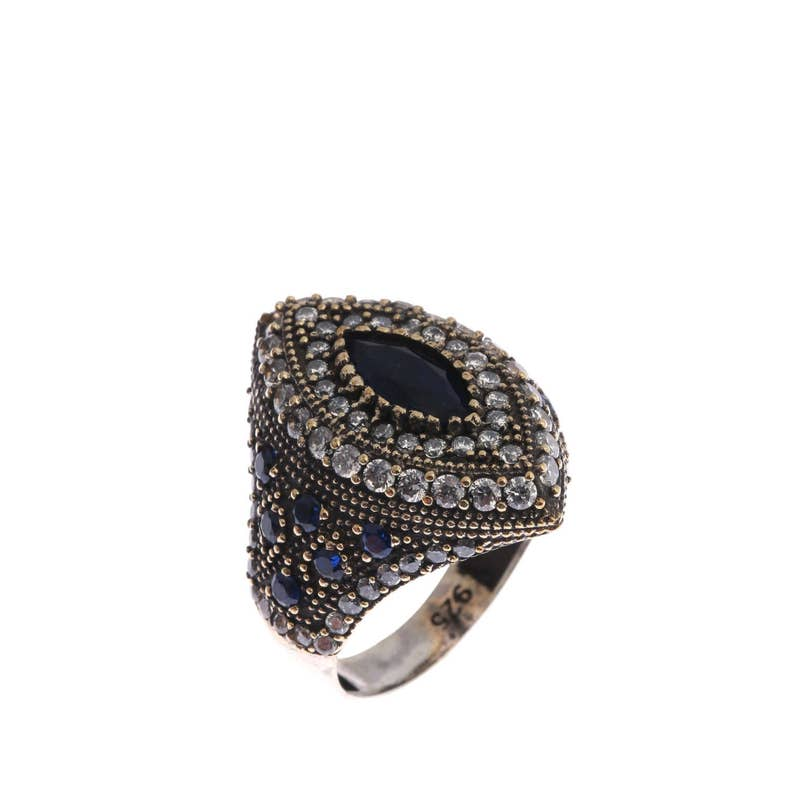 Authentic Ottoman style sterling silver ring ZB10056