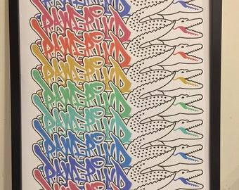 Pierwsze spojrzenie tanie z rabatem na sprzedaż online Lacoste logo art   Etsy