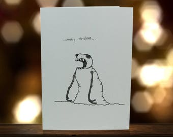 One of a Kind, Original Art - Christmas cards