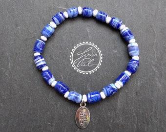 Elastic Boho glass beads bracelet/Gypsy/bohemian/Boho bracelet/Unisex bracelet/best friends bracelet/Lampwork/beach Jewelry/JOIAS Pal