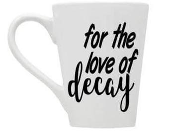Urban Exploring, Urbex Mug, Urbex, Exploring, For the Love of decay, exploring mug, urbex mug,