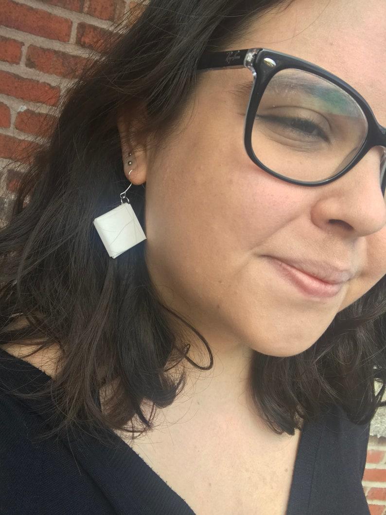 Malt\u00edn Polar earrings  Venezuelan product