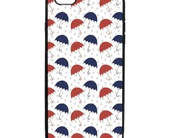 Umbrella Print Pattern Phone Case Samsung Galaxy S5 S6 S7 S8 S9 Note Edge iPhone 4 4S 5 5S 5C 6 6S 7 7S 8 8S X SE Plus