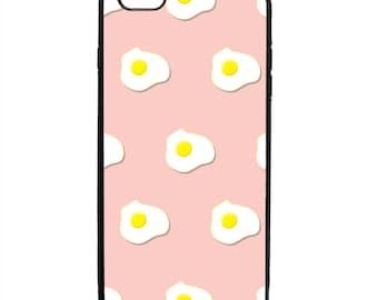 Breakfast Eggs Print Phone Case Samsung Galaxy S5 S6 S7 S8 S9 Note Edge iPhone 4 4S 5 5S 5C 6 6S 7 7S 8 8S X SE Plus