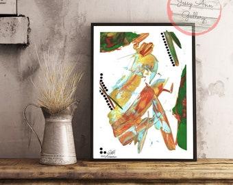 Original Abstract Painting, Abstract Art, Art Print, Abstract Painting, Modern Art, Acrylic Art Print, Wall Art, Home Decor