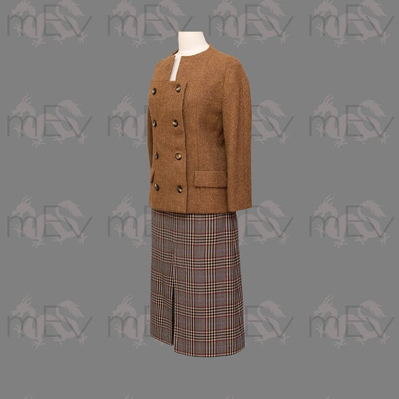 Coat Rare 1960s Short Breasted Italian Simonetta Couture Interesting NecklineImportant et JacketWoolDouble Designers Fabiani with srCdQth