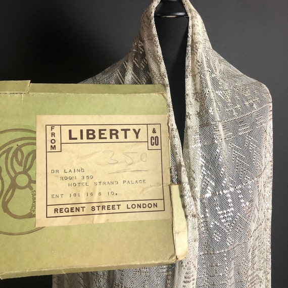 1920s Assuit Shawl in Original Box from Liberty &