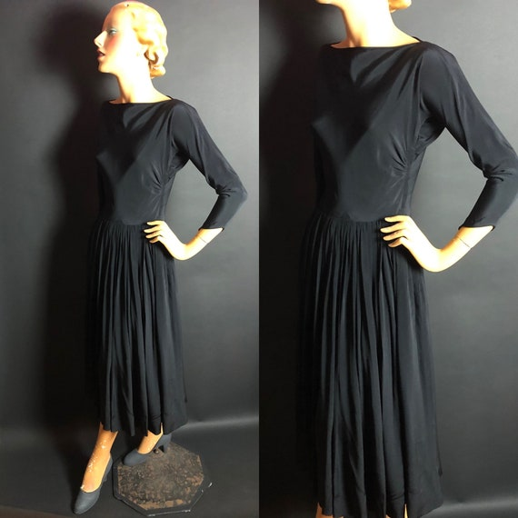 Rare 1950s Claire McCardell for Townley Rayon Bal… - image 1