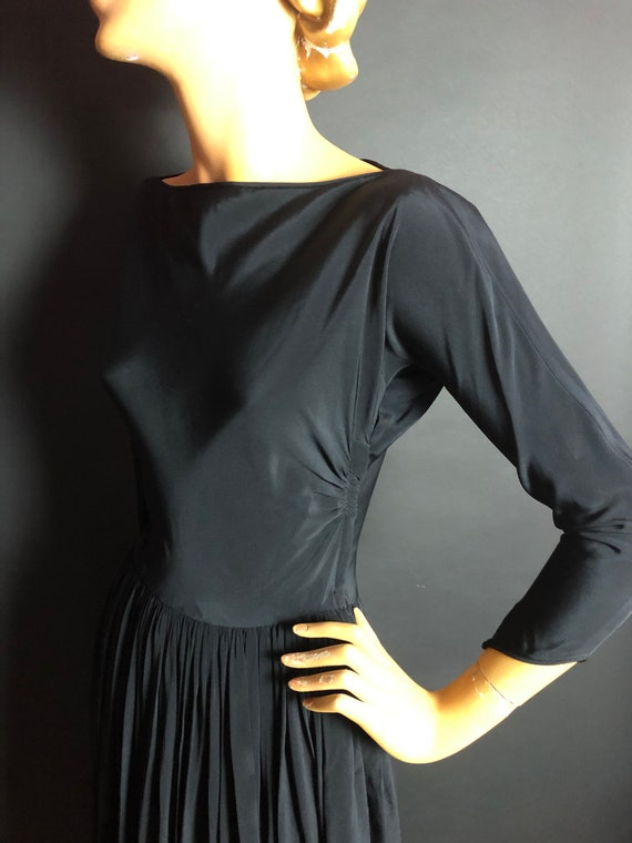 Rare 1950s Claire McCardell for Townley Rayon Bal… - image 3