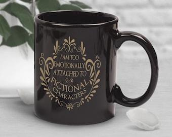 Funny Fandom Coffee Mug, Book Lover Gift, Geek Mug, Anime Mug, Gift for Her, Him, Housewarming, Birthday, Book Nerd, Geek Gift, Bookish