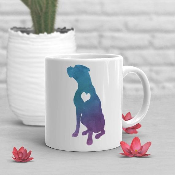 Boxer Coffee Mug Cute Boxer Gift Boxer Dog Lover Gift for