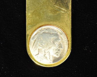 1935 Indian Head Nickel Money Clip
