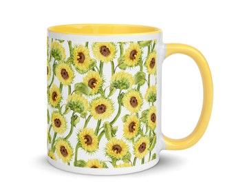Kansas Sunflowers Mug