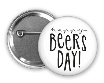 """Button """"Happy Beersday"""""""