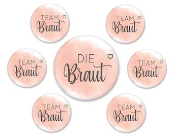 Team Bride - Button Set