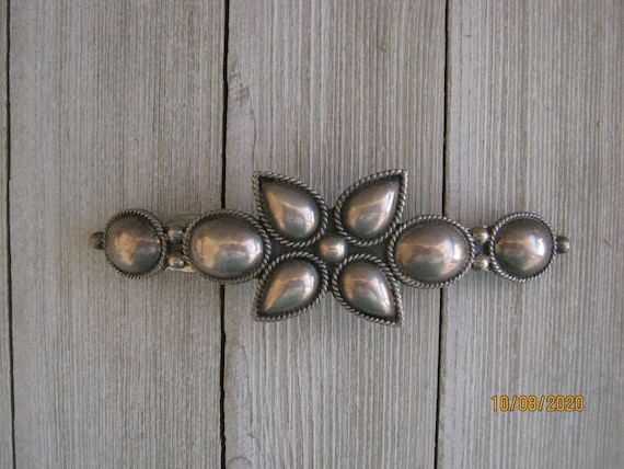 MEXICAN STERLING BARRETTE