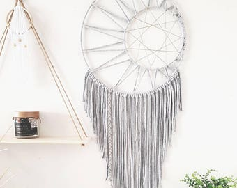 Boho dreamcatcher, dreamcatcher, wall hanging, boho decor, gypsy decor, dream catcher,modern, wall hanging, boho wedding, christmas, gift