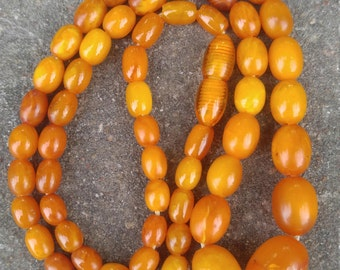 Old Natural Baltic Amber Necklace 10 Grams.