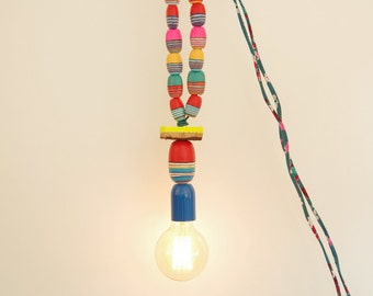 Lamp light floats 1 necklace