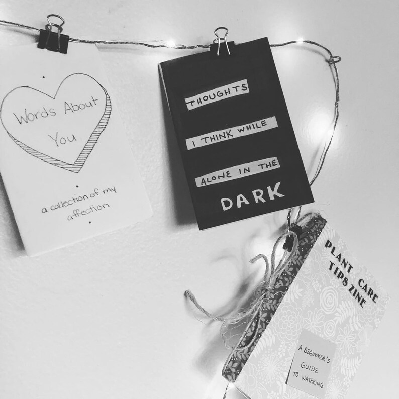 Alone In The Dark: A Mini-zine About Loneliness image 0