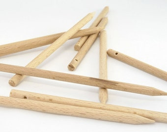 Weaving sticks, sold by 10. Weaving sticks, sold per 10 pieces