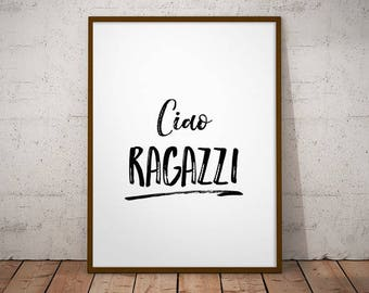 graphic about Italian Phrases for Travel Printable called Italian quotations Etsy