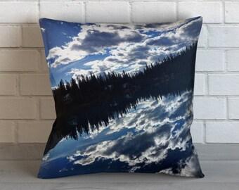 Emerald Lake Reflection Pillow