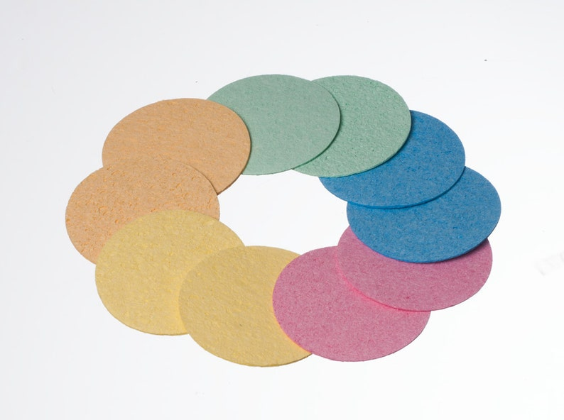 Cellulose Facial Sponges image 0