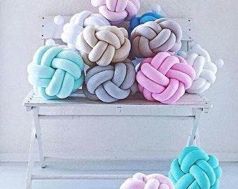 Knot pillow Soft pillow Bedroom,Sale, pillow Baby pillow Baby soft toy Decorative pillow,soft baby knot pillow,knot baby toy,soft ball