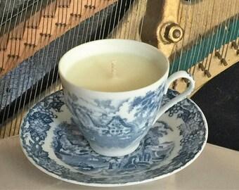 Japanese Fine Bone China Teacup Candle