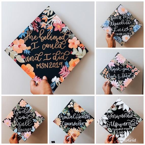 Custom Graduation cap topper