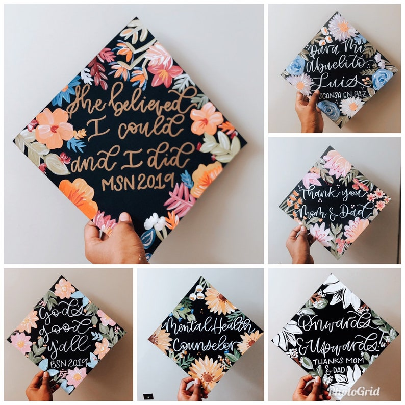 Customized Graduation Cap Handmade image 0