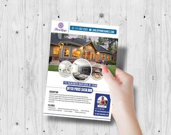 realtor marketing marketing flyer realtor open house etsy