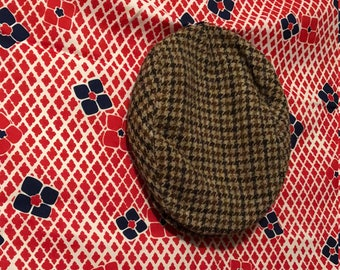 Vintage Handwoven Wool Hat
