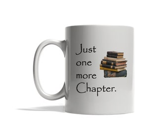 Just one more chapter, reading, books, hobbies, leisure, tea/coffee mug, casual activities, relaxing