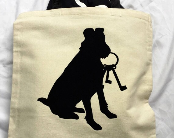 Pirates of the Caribbean Canvas Tote Bag / Disney Bag / Pirate Tote Bag / Canvas Tote Bag / Disney Tote Bag / Pirates of the Caribbean Dog