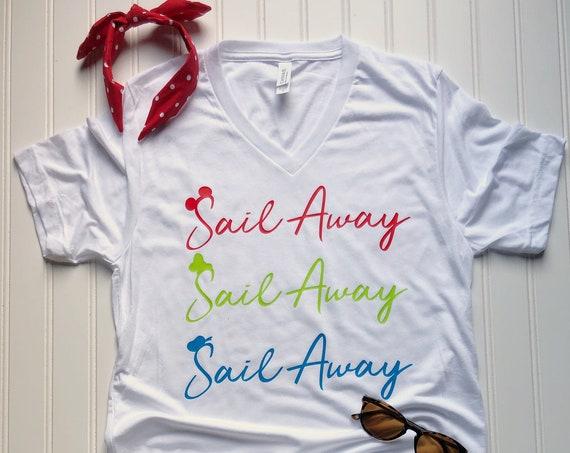 Sail Away - Disney Cruise - Castaway Cay - Caribbean - Alaska - Mexico - Family Vacation - Ocean - Ship - Sail - Beach - Mickey-Donald-Goofy