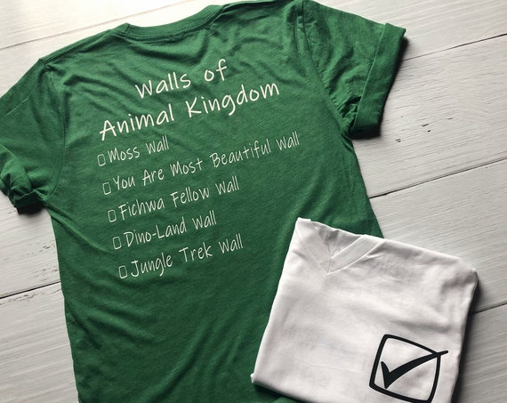 Walls of Animal Kingdom Shirt / Disney Vacation / Matching Shirt / Walls of Disney / Women Shirt /Men Shirt/Disney Gift/Disney World/Pandora