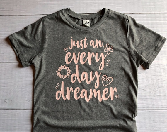 Just An Every Day Dreamer / Disney Shirt / Girl Shirt / Tween Shirt / Dreamer / Princess / Daydream / Gift Under 30 /Dream Big/Hidden Mickey