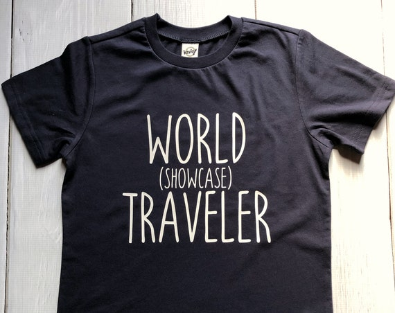 World Showcase Traveler Kids Shirt / Disney Shirt / Epcot Shirt / Kids Disney Shirt / Epcot World Showcase / Kids Epcot Shirt / Disney Gift