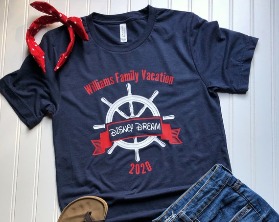 Family Disney Cruise Line Shirt / Matching / Vacation / Caribbean / Alaska / Sail / Castaway Cay / Custom / Personalize / Beach / Ocean/Ship