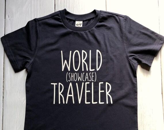 World Showcase Traveler Kids Shirt / Disney Shirt / Epcot / Toddler / Boy / Girl / Walt Disney World / Family Vacation / Festival / Matching