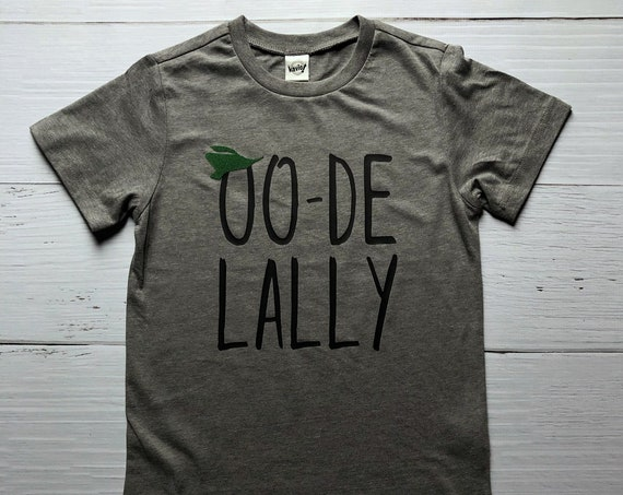 Oo-De-Lally Kids Shirt / Robin Hood Shirt / Kids Disney Shirt / Disney Shirt / Oo De Lally / Boy Girl Disney Shirt/Disney Gift/Gift Under 20