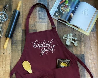 Kindred Spirit Kitchen Apron - Anne of Green Gables - Anne with an E