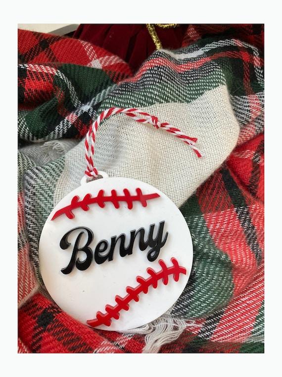 Benny Baseball Christmas Ornament - The Sandlot