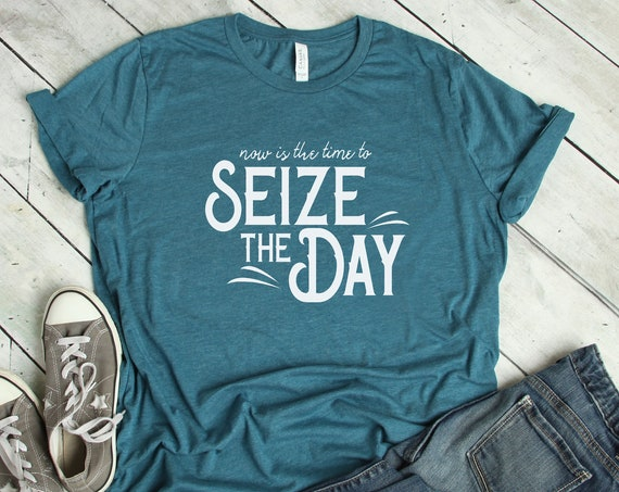 Seize the Day / Newsies / Broadway / Disney Musical / King of New York / Adult Shirt / Gift Under 30