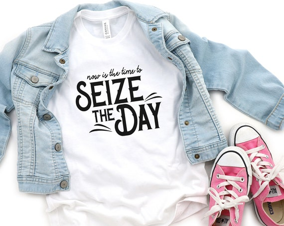 Seize the Day Youth Shirt - Newsies - Disney - Broadway - Musical Theatre - King of New York - Newsboy