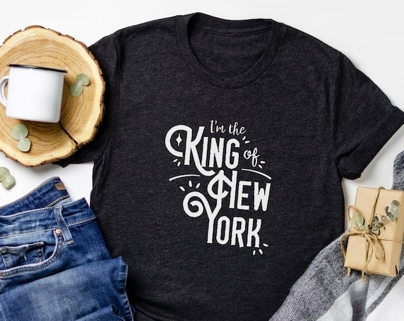 I'm the King of New York / Newsies / Broadway / Disney Musical / Seize the Day / Adult Shirt / Gift Under 30